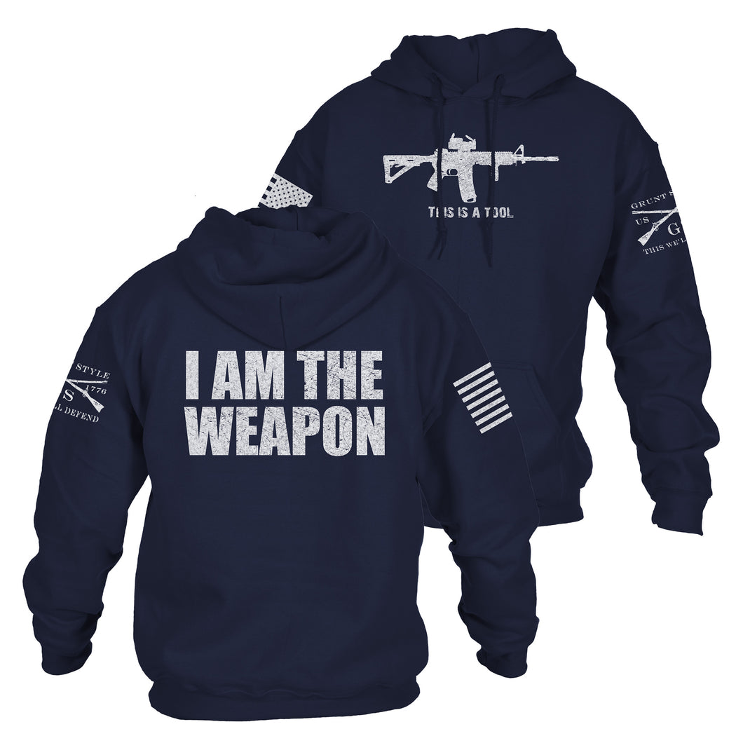 I Am The Weapon Hoodie