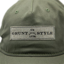 Load image into Gallery viewer, Grunt Style OD Green Twill Hat