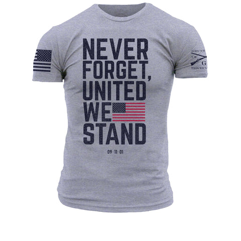United We Stand - Dark Heather Grey