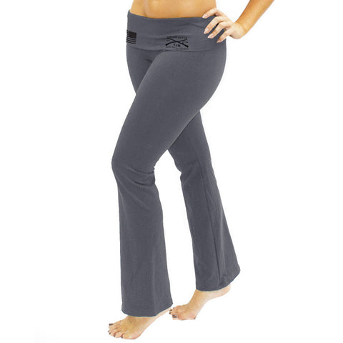GS Yoga Pants - Asphalt