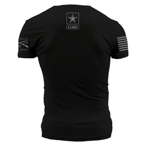 Army - Basic Back Logo - Black