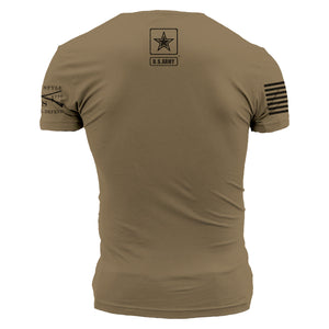 Army - Basic Back Logo - Tan 499