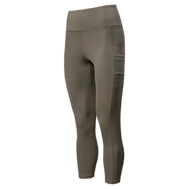 Front of the Women's GS Utility Legging in Olive