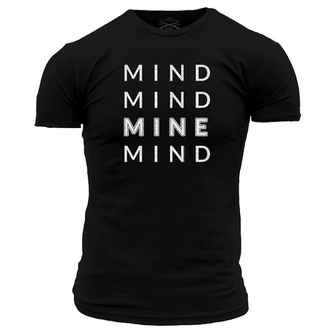Mind Mind Mine Mind Men's - Black