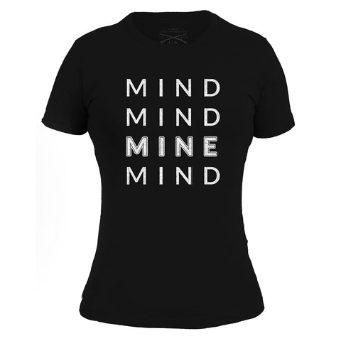Mind Mind Mine Mind Ladies - Black