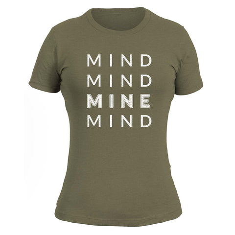 Mind Mind Mine Mind Ladies - Light Olive