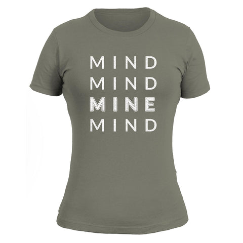 Mind Mind Mine Mind Ladies - Warm Grey