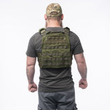 GS OD Green Plate Carrier w/Plates