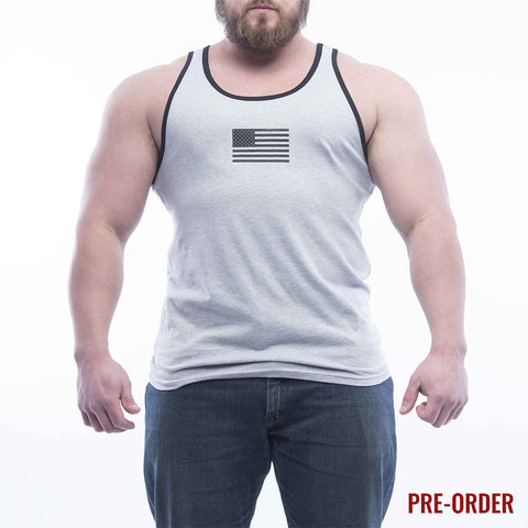 Basic Tank - Athletic Heather/Black
