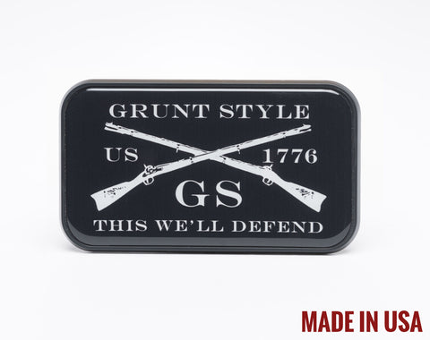 Grunt Style Trailer Hitch Cover