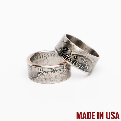 Kennedy Half Dollar Ring