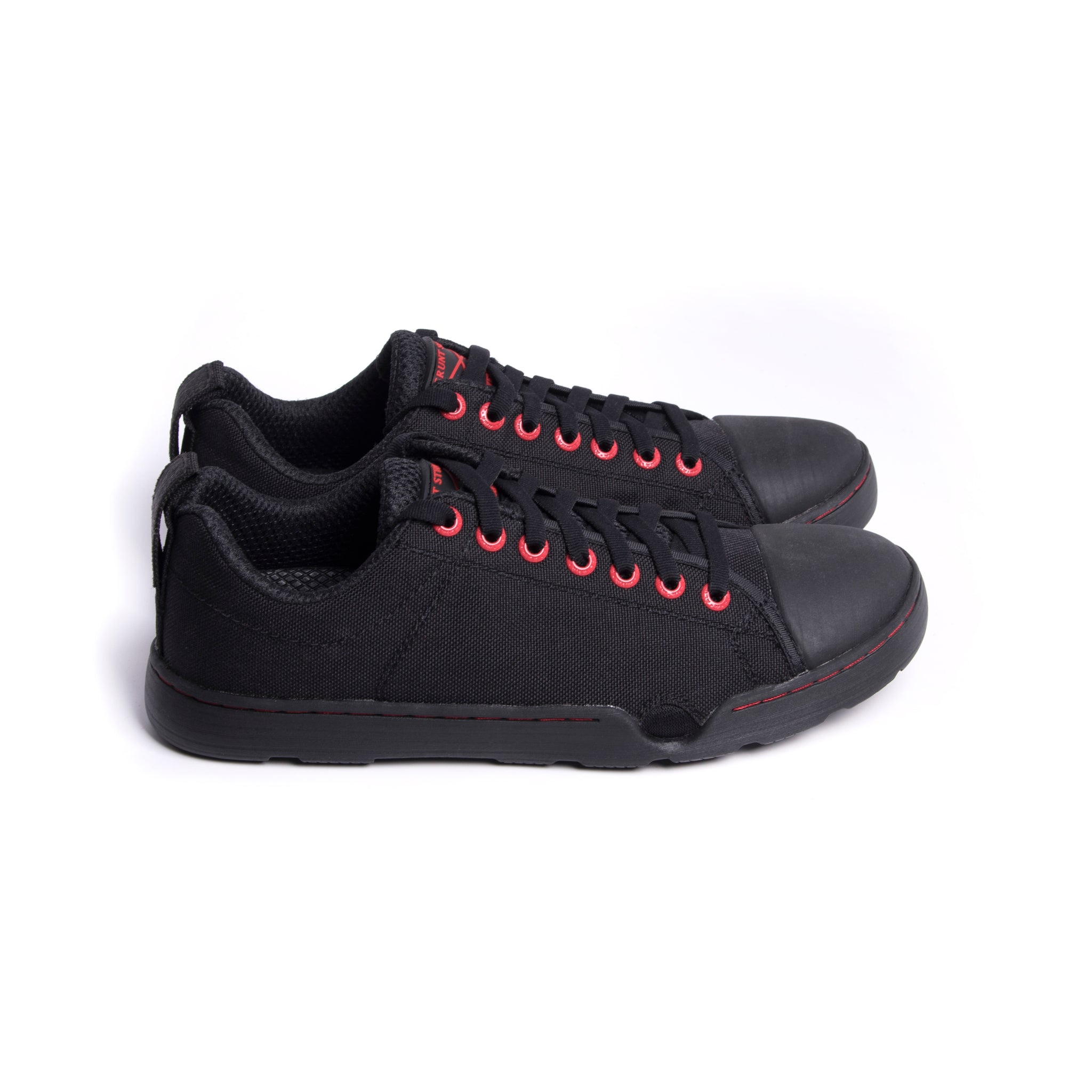 Low Tide Raid Shoes - Black/Red