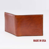 Grunt Style Light Brown Leather Wallet
