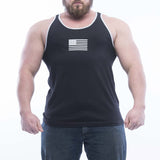 Basic Tank - Black/Light Heather