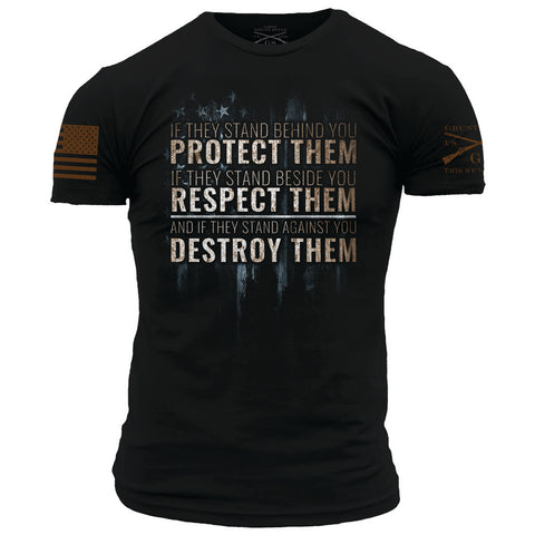 Protect, Respect, Destroy