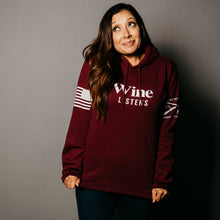 Load image into Gallery viewer, Wine Listens™ Hoodie
