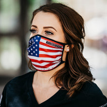 Load image into Gallery viewer, USA Flag Premium Face Mask