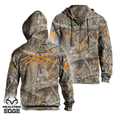 Realtree Logo Zip-Up