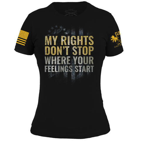 Club Grunt Style Exclusive - Rights Don't Stop - Ladies