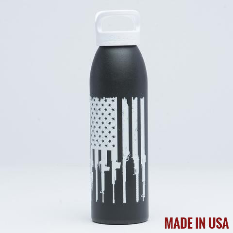 Rifle Flag Bottle