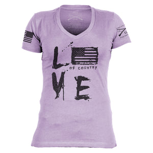 Love Of Country Revisited V-Neck
