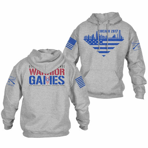 Warrior Games 2017 - Chicago Hoodie
