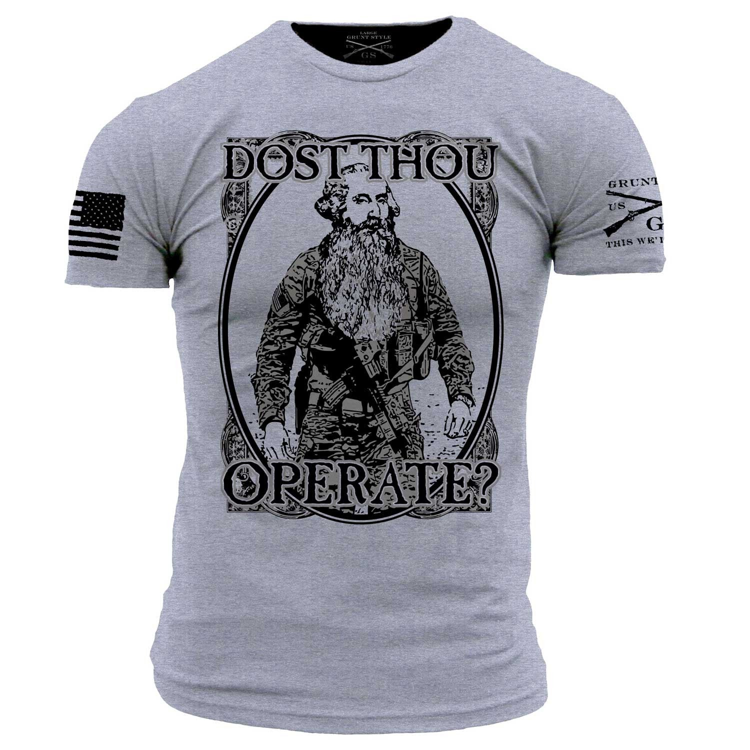 February Club Shirt - Dost Thou Operate? - Mens