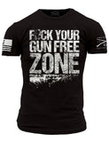 Fck Your Gun Free Zone - Front Phantom