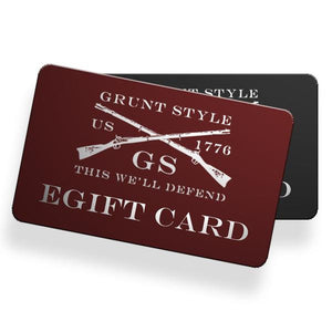Grunt Style e-Gift Cards