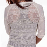 Ladies Lace Blouse - Back