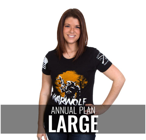 Ladies Large - $216/Annually