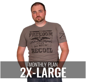 Male 2XL - $22/Monthly