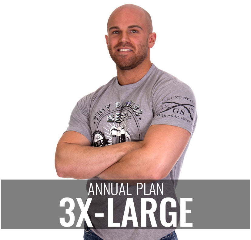 Male 3XL - $264/Annually