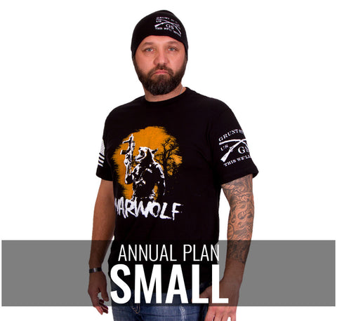 Male Small - $216/Annually