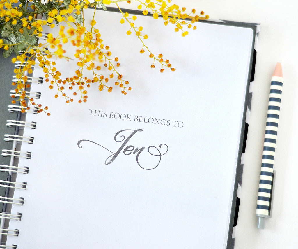 Customize the first page - INKDStationery - 2