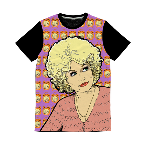 Dolly Mix 9to 5 Fuchsia - XWayneDidIt Baseball Tee
