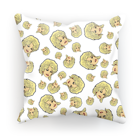 Dolly Mix Whorehouse Plain - XWayneDidIt Cushion Cover