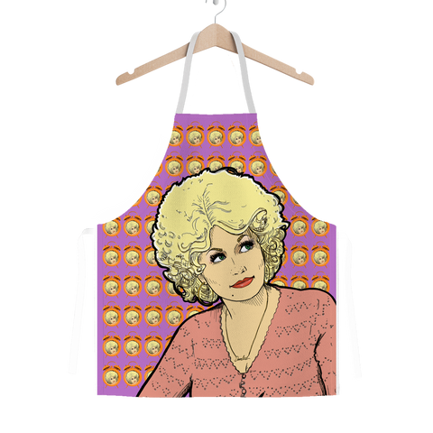 Dolly Mix 9to 5 Fuchsia - XWayneDidIt Apron