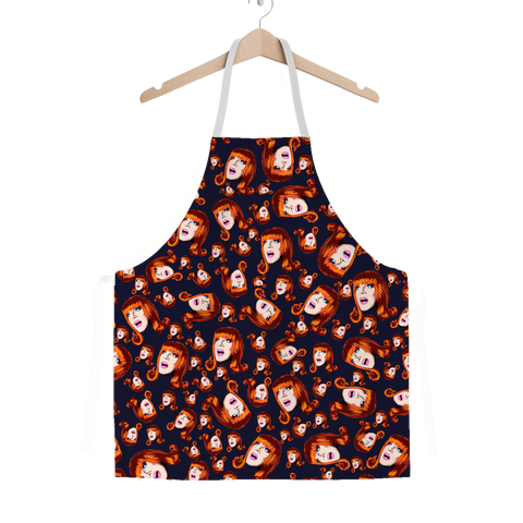 Coco Puff (Blue) - Miss Coco Peru X Binge (Limited Edition) Apron