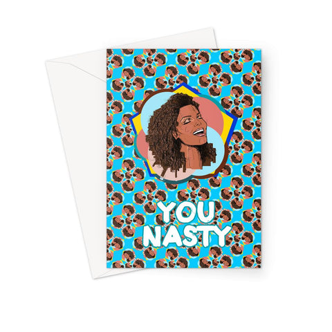 Janet - X WayneDidIt Greeting Card