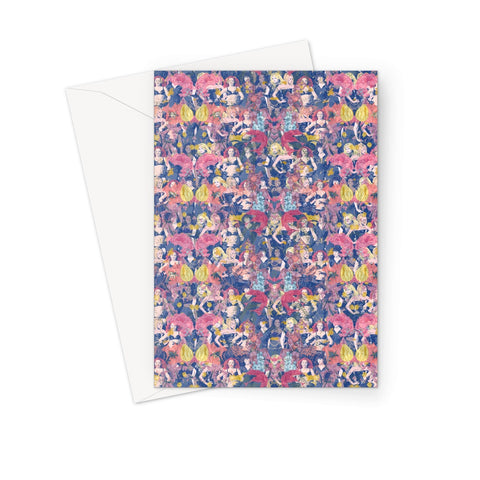 Floral Spice Greeting Card