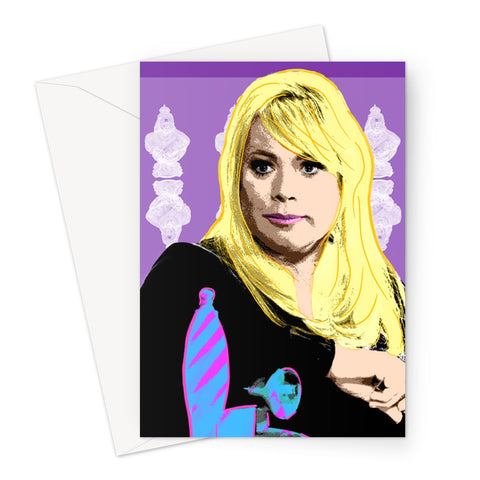 Sharon: The Sequel (Eastenders) Greeting Card
