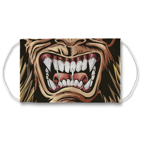 Wolfman Face Mask