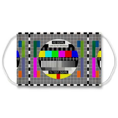 Test Card Face Mask