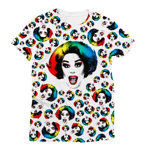 La Voix X Binge Multi Pride Women's Fashion Tee