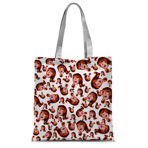 Coco Puff (White) - Miss Coco Peru X Binge (Limited Edition) Tote Bag