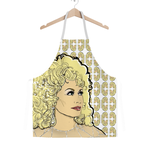Dolly Mix Rhinestone - XWayneDidIt Apron