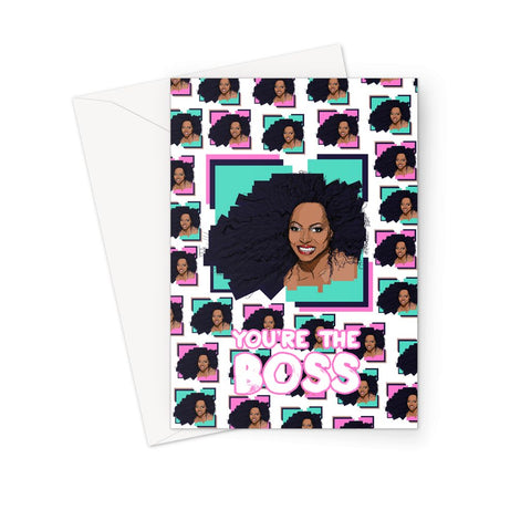 Diana - X WayneDidIt Greeting Card