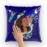 Janet - X WayneDidIt Sequin Cushion Cover