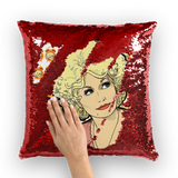 Dolly Mix 9 to 5 - XWayneDidIt Sequin Cushion Cover